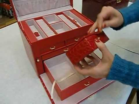Fai da te tutorial n 26 portagioielli in feltro 1 2 lea - Costruire un portagioie ...