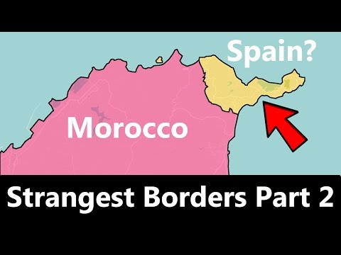 The World's Strangest Borders Part 2: Spain