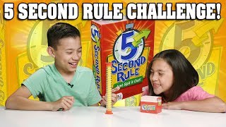 5 SECOND RULE CHALLENGE!!! Just Spit It Out!