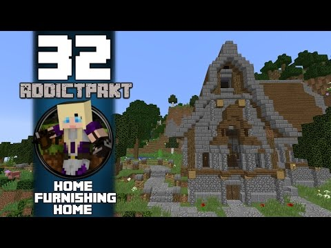 Lets Play Minecraft: AddictPakt - Home Furnishing Home - Episode 32