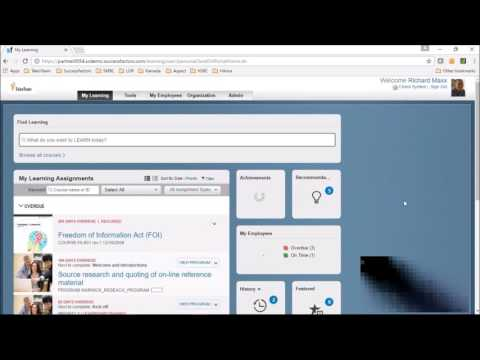 SuccessFactors Gamification Demo