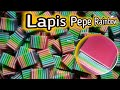 - Membuat Lapis Pepe Rainbow Lapis Kanji Pelangi
