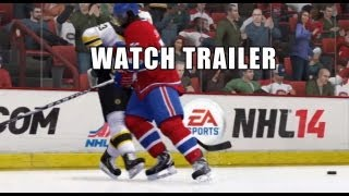 NHL 14 Collision Physics Gameplay Trailer