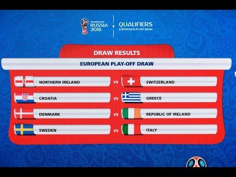 European Play-Off Draw Highlights