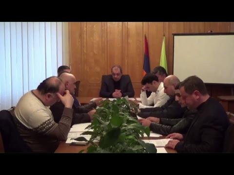 Ավագանու արտահերթ նիստ - 26.01.2018