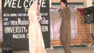 Funny Heer Ranjha Skit At Mega Function Of Active iTERIANS UOE.MULTAN