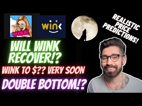 WINK PRICE PREDICTION 2021!👑WINK HEADED FOR DOUBLE BOTTOM?🤖WIN PRICE PREDICTION👑 WINK & BTC ANALYSIS