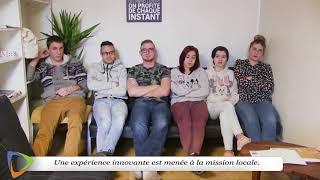 Atelier organisé dans le cadre de la Garantie jeunes.