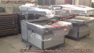 Flat Screen Printing Machine,flat Screen Printer,plane Screen Printing Machine