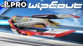 WipEout: Omega PS4 Gameplay - Van Uber, 2048 & Campaign