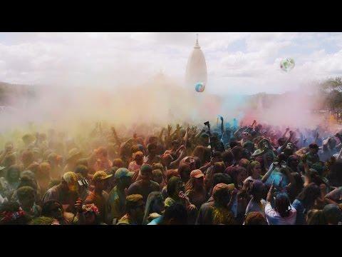 Holi - Festival Of Colours - (ISKCON) Auckland New Zealand 2017