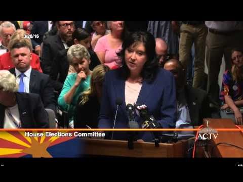 Arizona Election Fraud & Voter Suppression Hearings 03/28/2016