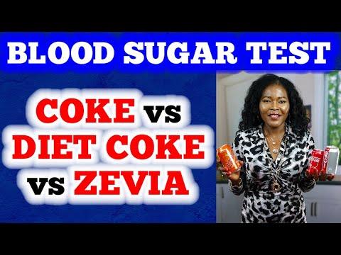 Blood Sugar Test: Coke Vs Diet Coke Vs Zevia
