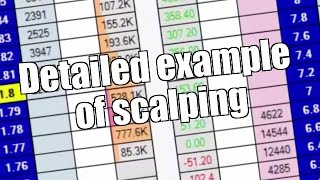 Betfair trading - Detailed example of scalping - Peter Webb