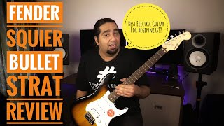 Fender Squier Bullet Electric Guitar Review   Best Electric Guitar For Beginners??
