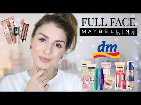 Full Face using only MAYBELLINE Products l Get ready with me l Sara Desideria