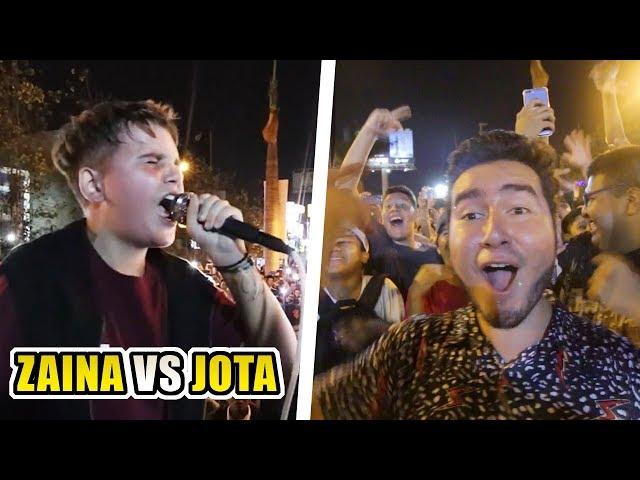 CAMPEÓN MUNDIAL CON 15 AÑOS   Zaina vs Jota (Final Sangre Inca 2019)