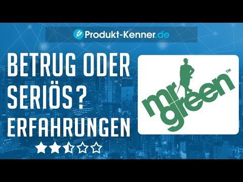 [FAZIT] Mr. Green Erfahrungen + Review | Das Online Casino im TEST! Abzocke oder seriös?