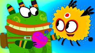 Куми-Куми - Солнечная энергия, эпизод 2 (Solar Energy)(Бай-баба (жрица племени Джуми-Куми) поручила Джуге ответственное задание - зарядить Солнечную овечку энерги..., 2013-04-04T05:12:48.000Z)
