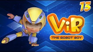 Vir: The Robot Boy | Hindi Cartoon Series For Kids | Vir Vs Cemento | Action Cartoons | Wow Kidz