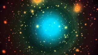8K Swinging Stars Space 4320p Motion Background