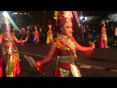 Penampilan Jatim Specta Night Carnival 2017 dari LUMAJANG