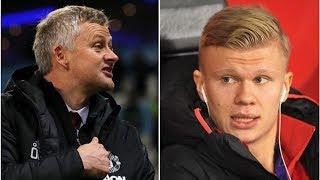 Man Utd make huge contract offer to Erling Haaland as Solskjaer seeks to win transfer race- trans...