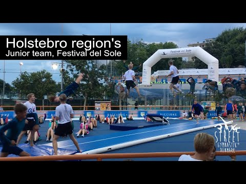 DGI Holstebroegnens juniorhold, Festival del Sole, Street Gymnastics