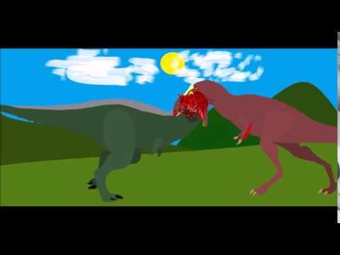 Carnotaurus vs Alioramus