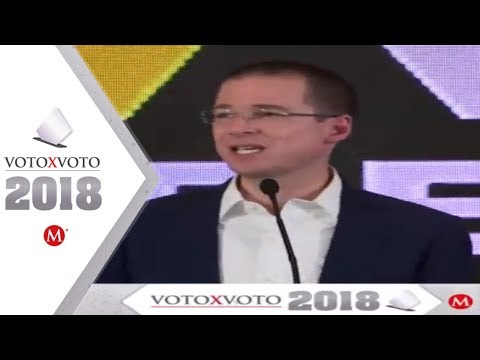 Ricardo Anaya acepta su derrota y felicita a AMLO