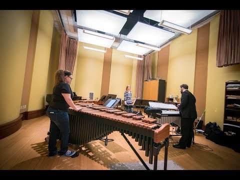 Inside the Classroom: School of Music - Percussion Ensemble