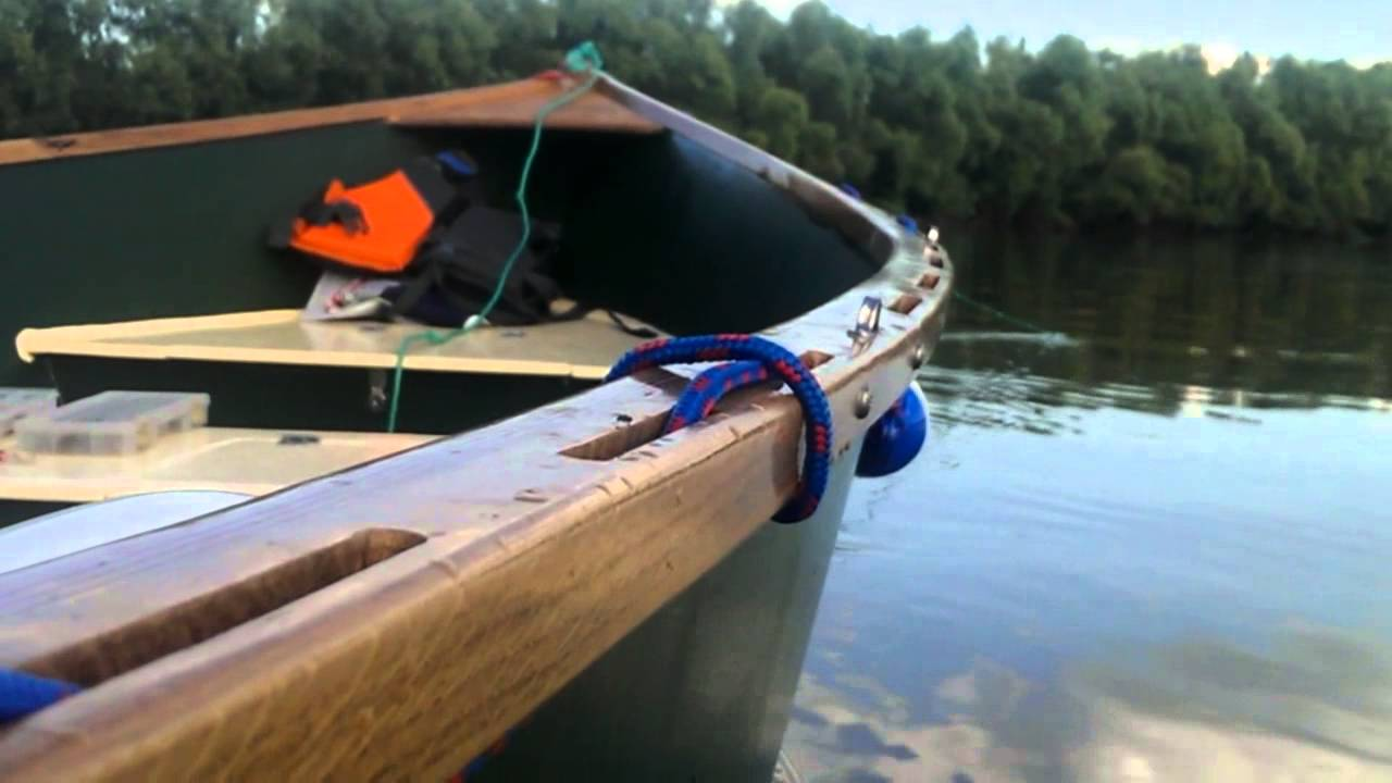 My home made Tango Skiff - YouTube