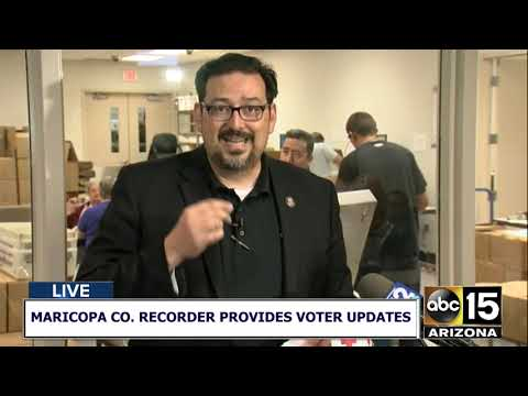 Maricopa County Recorder addresses poll problems in the Valley
