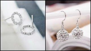 Pure Silver Earrings For Indian Women