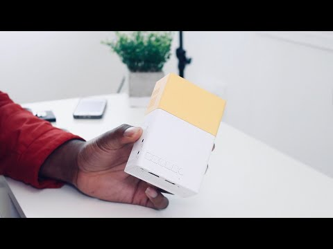 The Smallest LED Projector