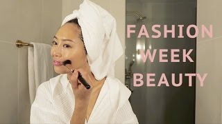 Easy Fashion Week Beauty Routine | Song of Style