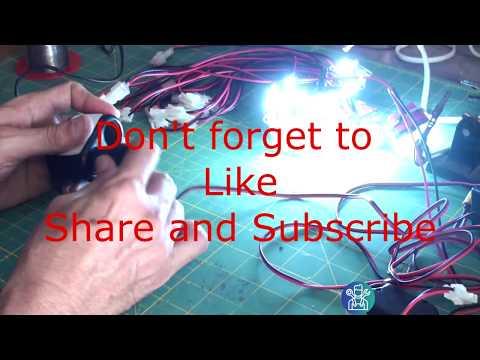 DIY: 12V LED Camp Light