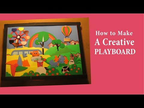 Make a Creative Playboard for Your School Project