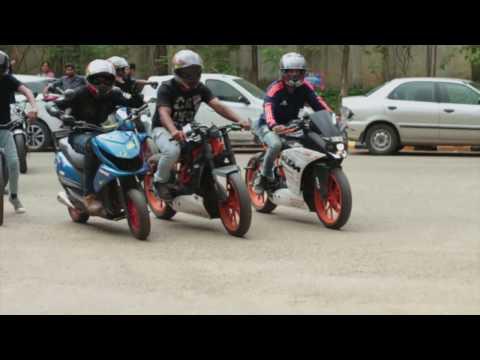 Awesome stunt show # Team DraconianZ # Alliance University Bangalore