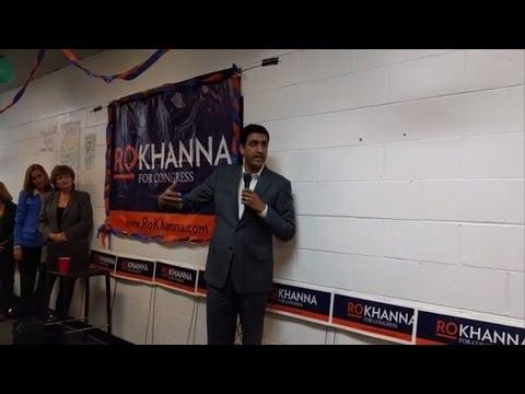 Ro Khanna for Congress 2016 (CA-17) Santa Clara Office Opening