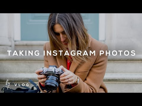 VLOG: HOW I TAKE MY INSTAGRAM PHOTOS | Lily Pebbles