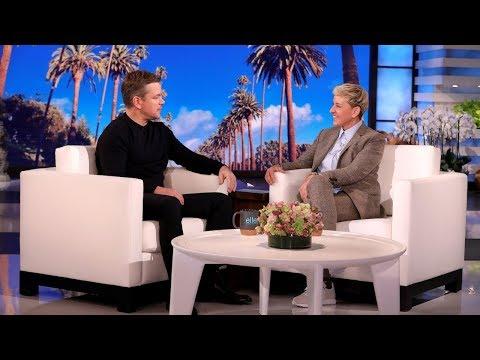 Matt Damon Shares the Results of His Family's DNA Test