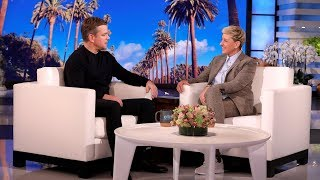Matt Damon Shares the Results of His Family's DNA Test