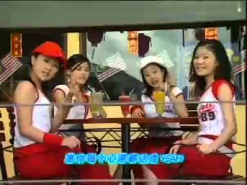 四个女生 vs 四千金 新年快乐