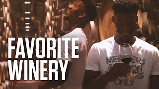 Jimmy Butler visits his favorite winery in Italy.