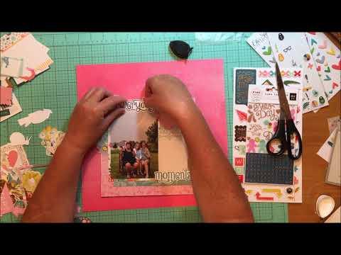Scrapbook Process #200 Everyday Moments