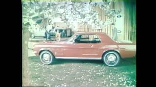 1967 Ford Mustang TV Ad Commercial (4/7) - Mustang in Spring