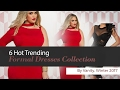6 Hot Trending Formal Dresses Collection By Vanity, Winter 2017