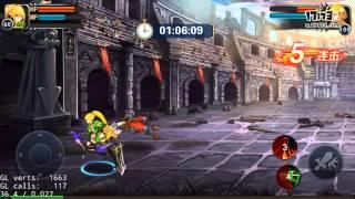Dragon Nest: Warrior's Dawn Arrow gameplay video - Arena