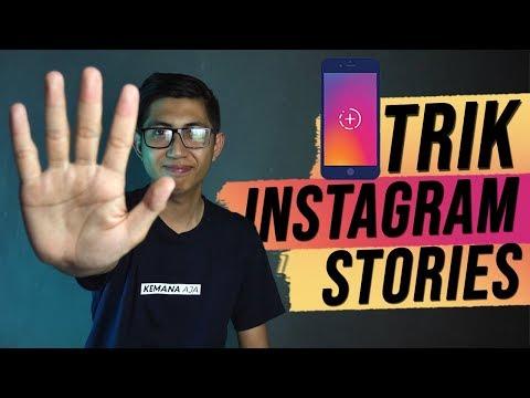 5 Trik Instagram Stories Yang Sering Tidak Diketahui